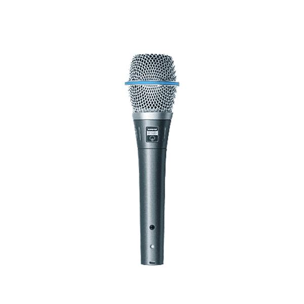 Shure, BETA87A, Studio-quality Sound Vocal Microphone