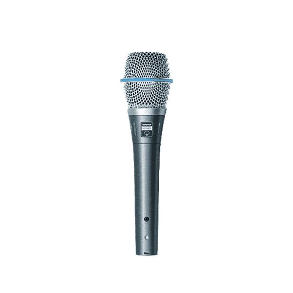 Shure, BETA87A, Microphone vocal de qualité studio
