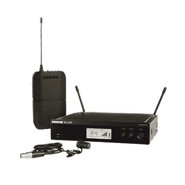Shure, BLX14R/W85-H8, Système sans fil Lavalier