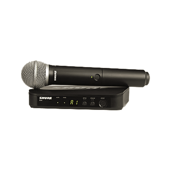 Shure, BLX24/PG58-H8, Handheld Wireless Vocal System