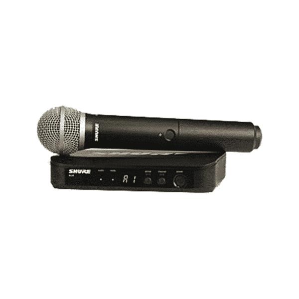 Shure, BLX24/PG58-H8, Système vocal sans fil portatif