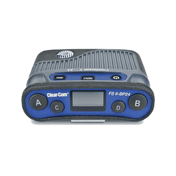 Clear-Com, 5-channel Full-duplex FreeSpeak II Digital Beltpack