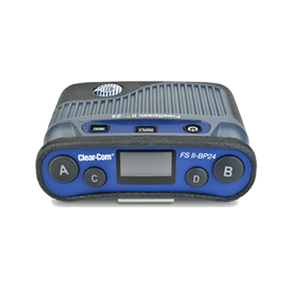 Clear-Com, FreeSpeak II 2.4GHz Beltpack, Boîtier de ceinture
