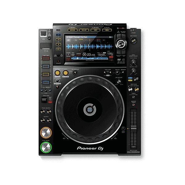 Pioneer, CDJ-2000NXS2, Pro-DJ Multi-player