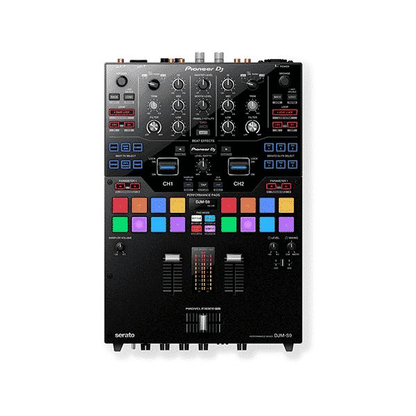 Pioneer, DJM-S9, 2-channel Battle Mixer for Serato DJ, Black
