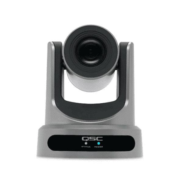 QSC, PTZ 20x60, Caméra de conférence PTZ-IP, zoom optique 12x
