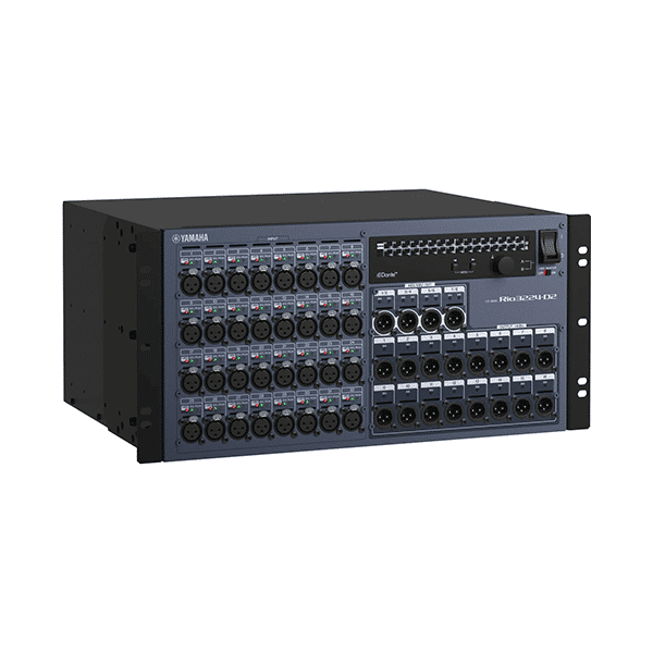 Yamaha, Rio3224-D2, 32 x 24 I/O Rack for Audio Mixing Console