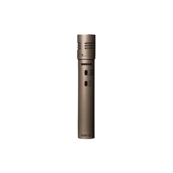 Shure, KSM137/SL, Cardioid Condenser Instrument Microphone