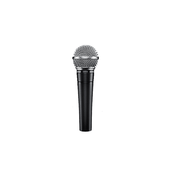 Shure, SM58S, Dynamic Cardiod Vocal Microphone