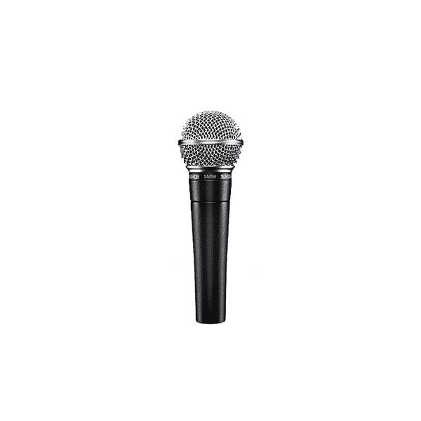 Shure, SM58S, Microphone vocal dynamique cardioïde