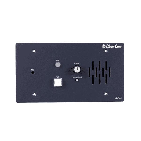 Clear-Com, KB-701, Station de haut-parleur/microphone encastré