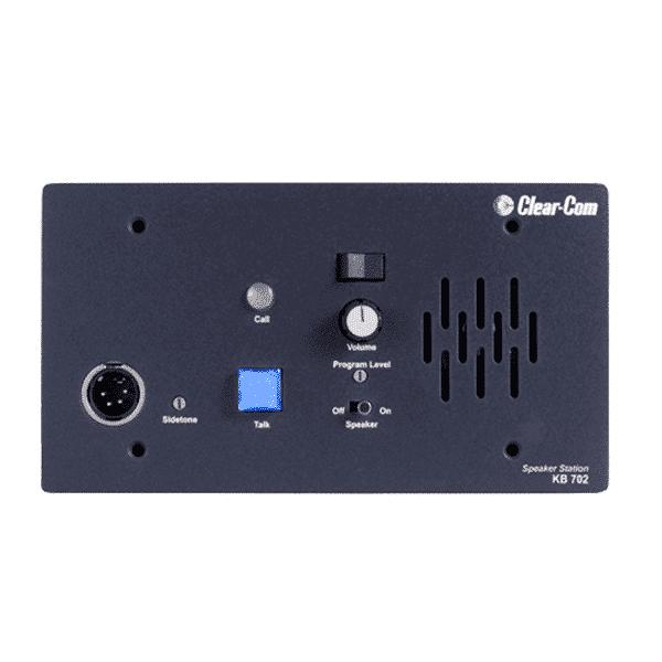 Clear-Com, KB-702, Station de haut-parleur/microphone encastré
