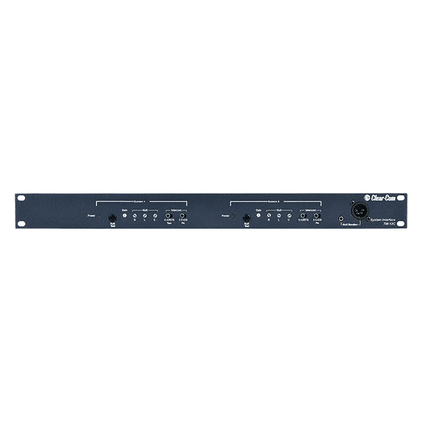 Clear-Com, TW-12C, 1RU Rack Mount Clear-Com System Interface