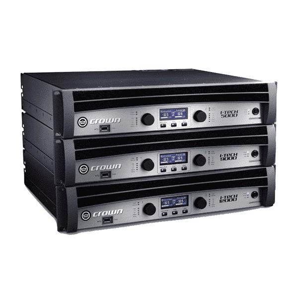 Crown International, I-Tech 5000HD, 2-channel Power Amplifier