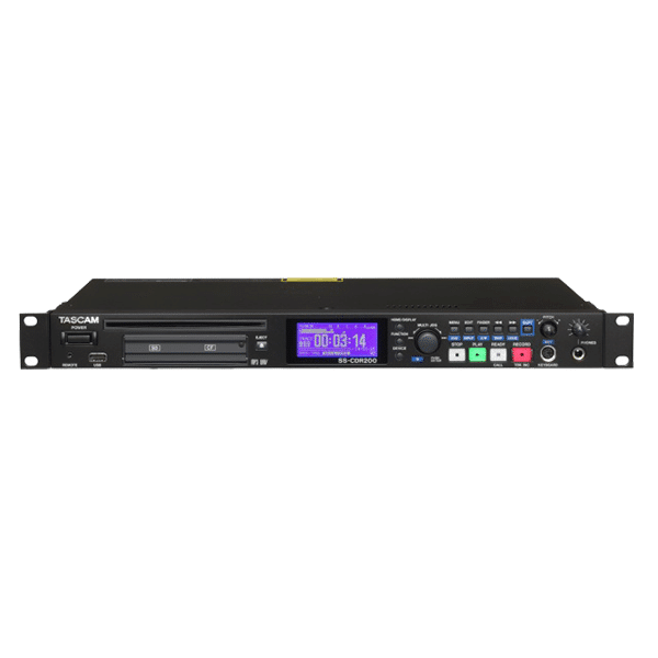 TASCAM, SS-CDR200, Solid State CD Recorder