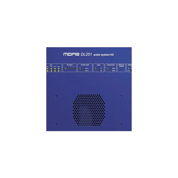 Midas Consoles, DL252, « Rack » d'E/S, 16 entrées micro/ligne