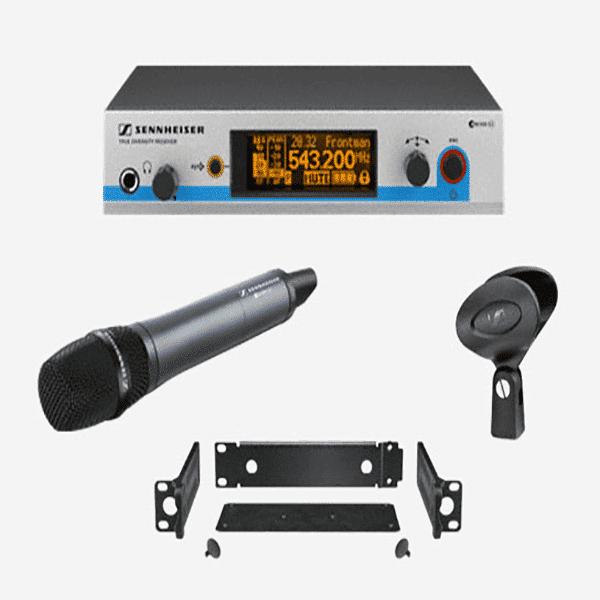 Sennheiser, EW500-965G3-A, Wireless Handheld Microphone System