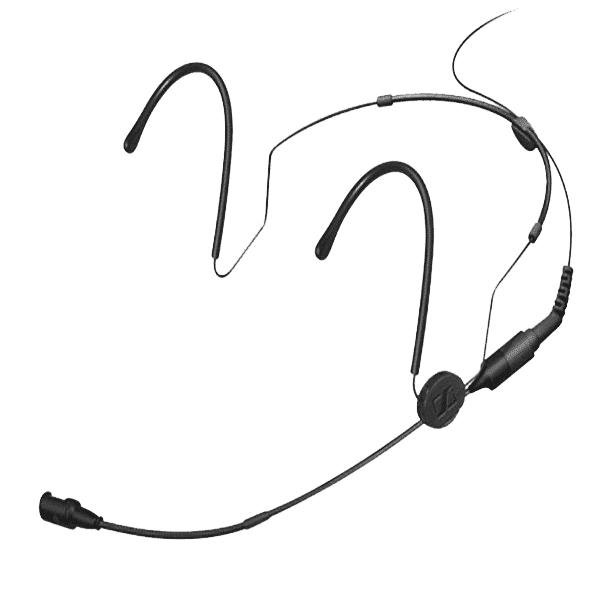 Sennheiser, HSP 4-M, Black Headworn Microphone