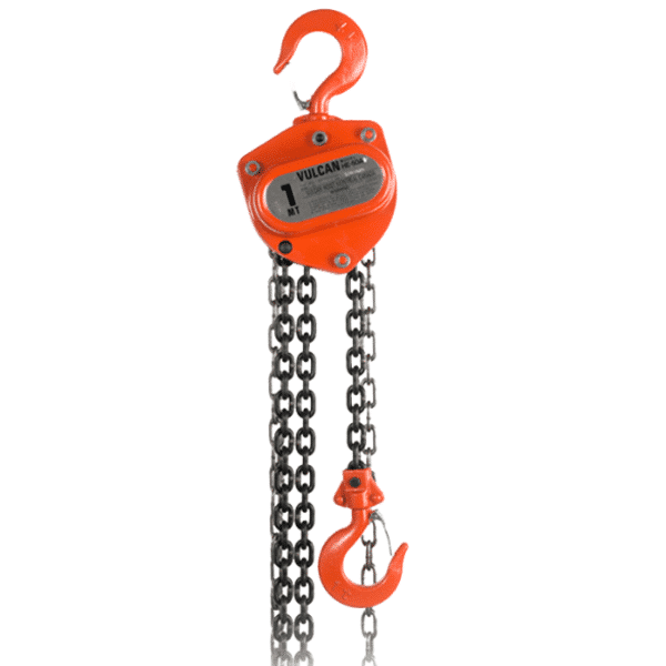 VULCAN HOIST, COMETC, manual chain ​​hoist 1 ton 040 '